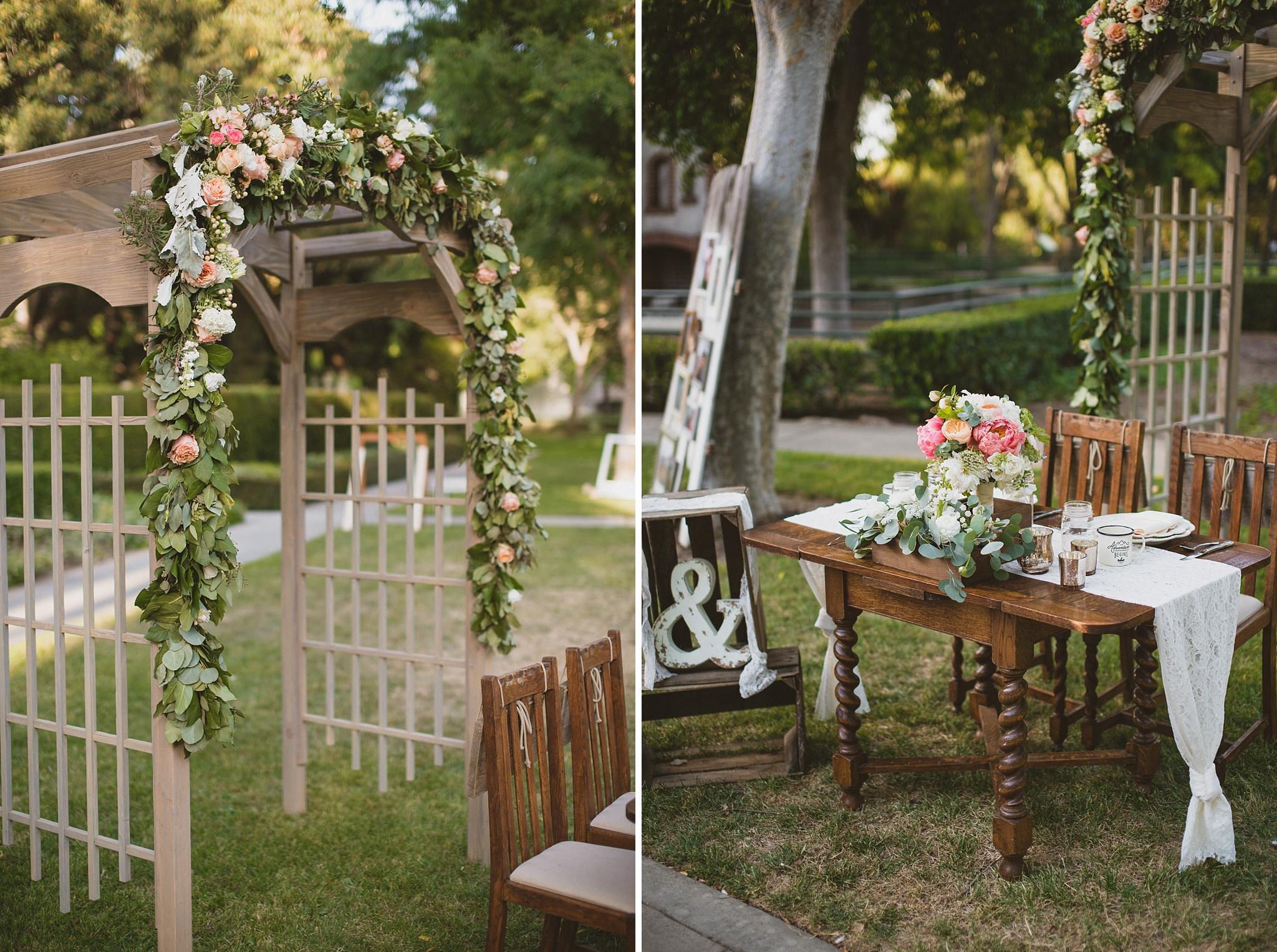 will u0026 emily a santa fe springs heritage park wedding next to